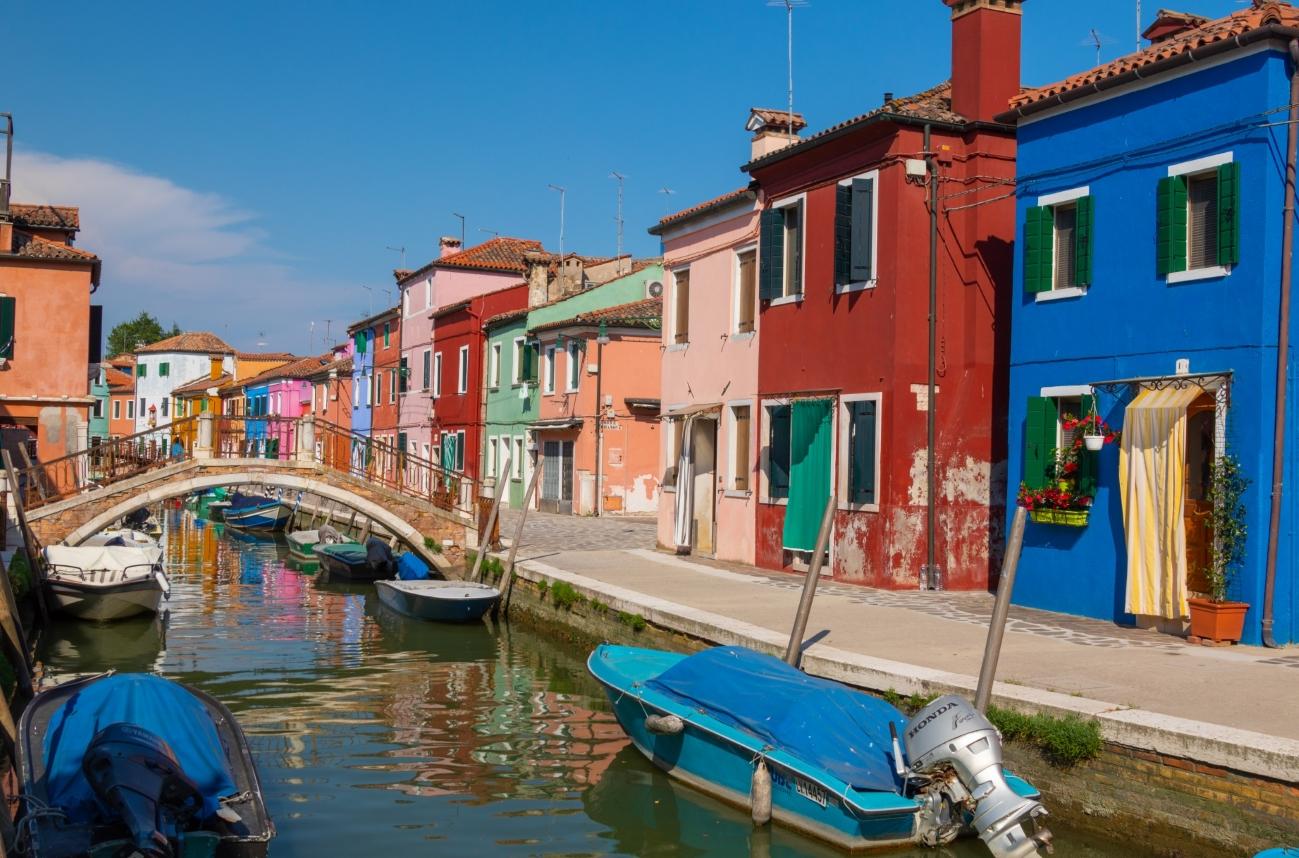 Un giorno a Burano, tra colori e merletti